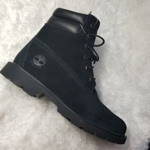 Timberland Black Suede Boots